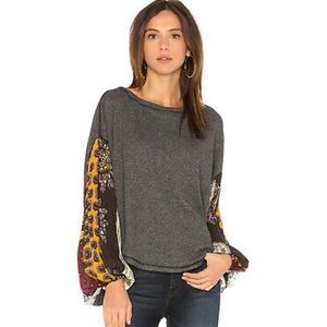 We the Free Blossom Thermal Top M